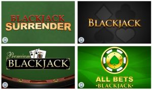Winner casinio Blckjack games