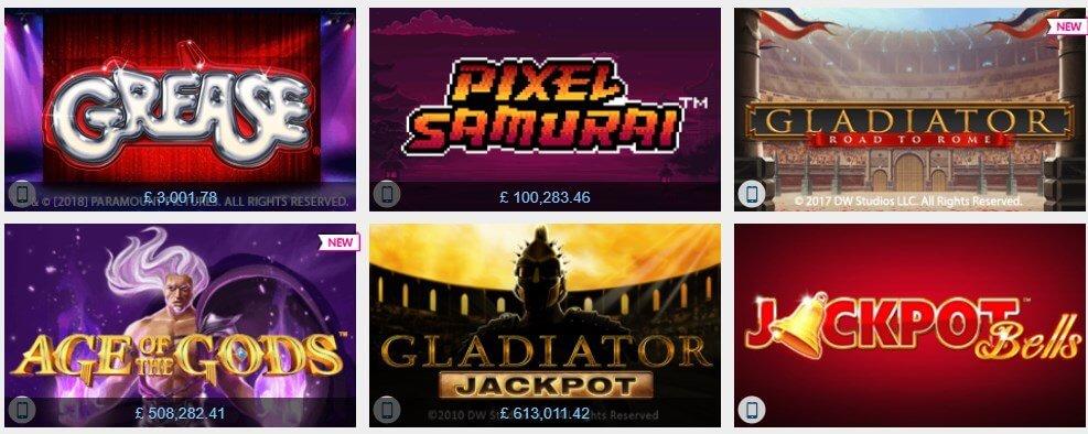 Winner casino Jackpot slots